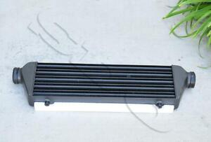 2 5 Black Universal Intercooler For Turbocharger Supercharger 27 5 x7 x2 5