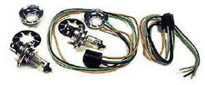 Halogen Conversion Kit Headlight Bucket Old Style Ford Dodge Chevrolet Olds Gm