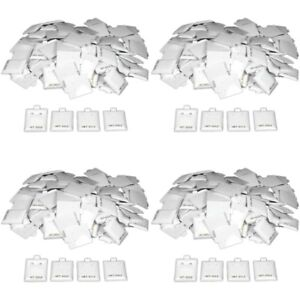400 14k Gold White Earring Puff Cards Case Display 1 5