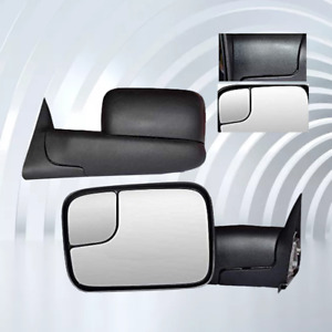 For 1998 2001 Dodge Ram 1500 1998 2002 Dodge Ram 2500 3500 Truck Towing Mirrors