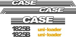 Case 1825b Replacement Decals Sticker Decal Kit Ns