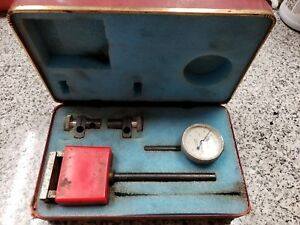 Central Tool Company No 200 Dial Indicator In Case A x