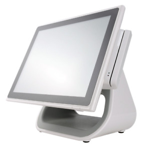 White Restaurant Pos 15 In Touch Screen All in one Pos