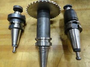 3 Bt30 Tool Holders Slitting Saw Tapping Collet Chuck Shell Mill Cnc Robo