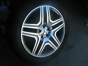 22 Mercedes Wheels Tires Ml 350 Ml300 Amg 5x112 Rims Gl350 Gl450 Gl550 Glk 20