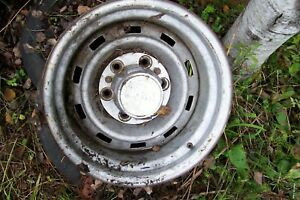 5 1967 72 87chevy Gmc Truck 4x4 6 Lug 15x10 Gm Original Truck Rally Used