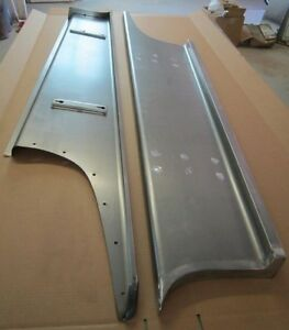 New 1939 Chevrolet Coupe Sedan Car Smooth Steel 16g Running Boards All Models