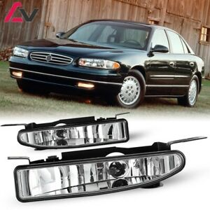For Buick Regal 97 05 Clear Lens Pair Bumper Fog Light Lamp Oe Replacement Dot