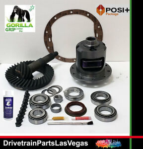 Gm Chevy Posi Limited Slip 8 6 10 Bolt 3 73 Gears Master Install Kit 2000 2008