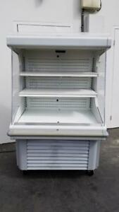 Hussmann Gsvm 4060 40 w Open air Curtain Cooler Merchandiser 115v