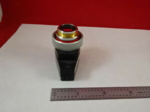 Microscope Objective Wyko Dektak Ix5 Michelson Interferometer Optics As Is nt22