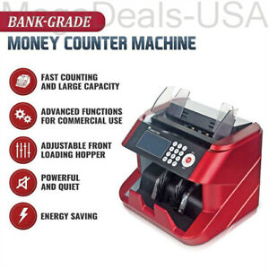 Bank Grade Bill Cash Counter By Carnation Fast User Friendly Money Counting