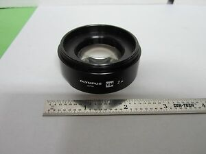 Microscope Part Olympus Lens 2x Stereo Scope Optics Bin f4 07