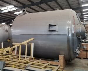 Apache 4250 Gallon T316l Stainless Steel Mix Tank 2004