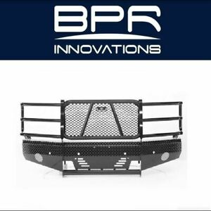 Ranch Hand For 16 18 Silverado 1500 Summit Width Tough Black Front Hd Bumper