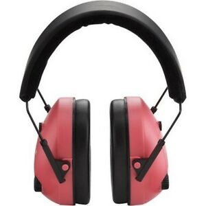 Champion Targets 40975 Electronic Pink black Earmuffs Hearing Protection Shooter