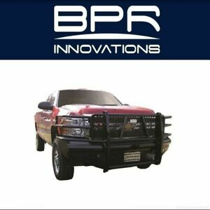 Ranch Hand For 11 14 Silverado 2500 Legend Bullnose Width Black Front Hd Bumper