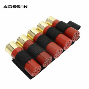 Bullet Pouch Shotgun Bag Holder 5 Round Shell Case Tactical Outdoor Military New