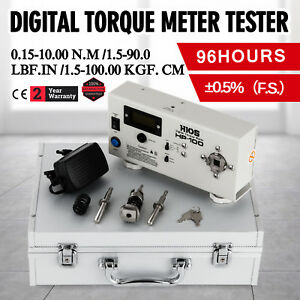 Hp 100 Digital Torque Meter Tester Precision 0 15 10 00n m X High Quality Hot