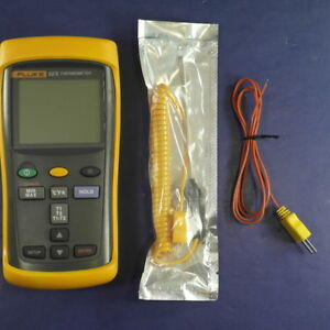 Fluke 52 Ii Thermocouple Thermometer Excellent Screen Protector