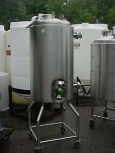 79 Gallon 300 Liter 316l Stainless Steel Jacketed Tank Reactor