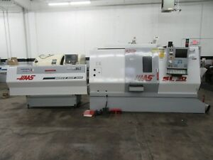 Haas Sl 30t Cnc Turning Center With Servo Bar Magazine Barfeed