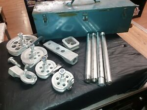 Imperial Eastman 350 fha Wide Range Tube Tubing Bender Set