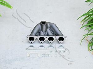 T3 T4 Top Mount Turbo Exhaust Manifold For Civic 88 00 Integra 94 01 B16 B18