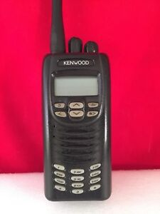 Kenwood Nx 200 K 2 Radio Vhf With New Battery