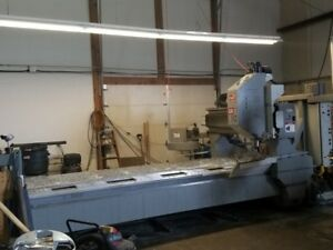 Used Haas Gr 512 Cnc Gantry Router Vertical Machining Center Mill 121x61 10k 06