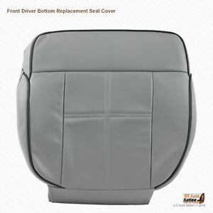 2006 Lincoln Mark Lt Front Driver Bottom Leather Replacement Cover Gray Trim Vb