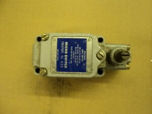 Micro Switch 1ls1 Lever Action Limit Switch With 1n o 1n c 1 2emt Hazd Locate