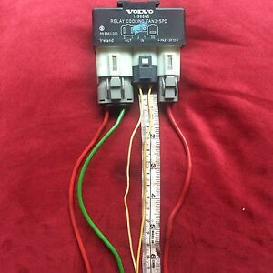 Volvo Fan Relay 16 To 22 Wires Hotrod Truck 4x4 Electric Swap 2 Speed Hot Rod