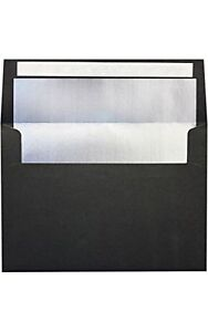 A7 Foil Lined Invitation Lined Envelopes W peel Press 5 1 4 X 7 1 4 New