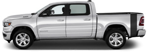 Rumblebee Bedside Tail Vinyl Graphic Decal Stripes For Dodge Ram 1500 2019 Up