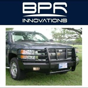 Ranch Hand For 07 13 Silverado 1500 Summit Width Tough Black Front Hd Bumper