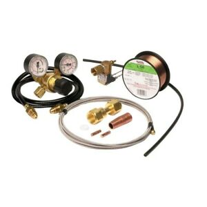 Lincoln Electric Weld pak 100 Wire Feed Welder Mig Conversion Kit Gas Regulator