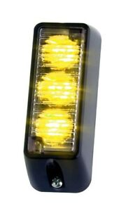 Whelen Tir3 Vertical Amber Led Brand New From Master Distributor With Warranty