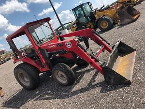 Massey Ferguson 1260 Tractor With Cab And Loader