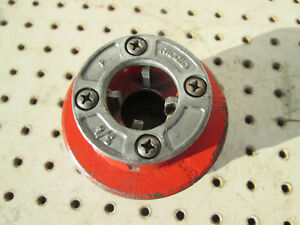 Ridgid 3 4 12r Pipe Threading Die Head Complete