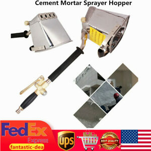 Cement Sprayer Wall Stucco Sprayer Plaster Sprayer Hopper Gun Paint Wall Gun Ups