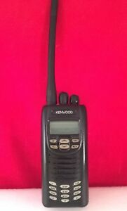 Kenwood Nx 200 G K 2 Radio Vhf With New Battery