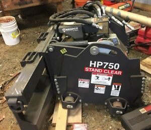 Skid Steer Cold Planer Bradco Hp750 Mill Head Quick Attach Hiflow Hydro Depth