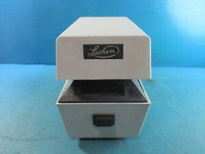 Lathem Ltt Automatic Date Time Recorder Document Stamp no Keys Used