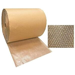 Kraft backed Bubble Wrap Roll 125 X 24 Wide