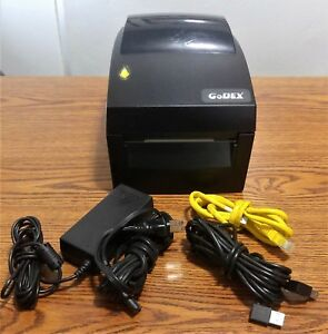 Godex Dt4x Direct Thermal Bar Code Label Printer Usb Lan Network