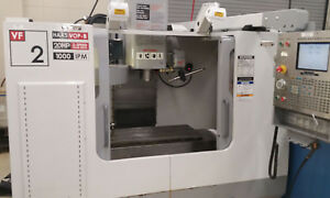 Haas Vf 2 Vertical Cnc With 20 Atc And Probe Excellent Condition 2005