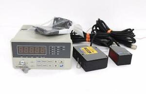 Keyence Vg 301 Laser Micrometer Amplifier Unit Vg 036r And Vg 036t Sensor Heads