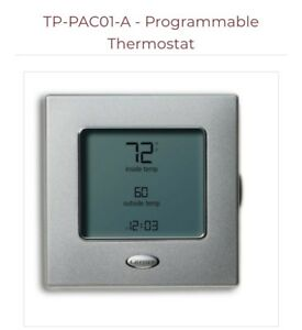 Brand New Carrier Tp pac01 a Performance Edge Programmable Thermostat