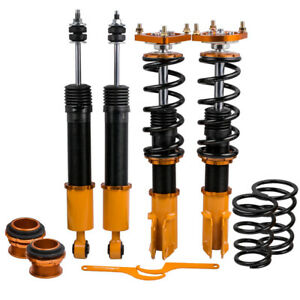Coilovers Kits For Ford Mustang 4th 94 04 Adjustable Height Top Mounts